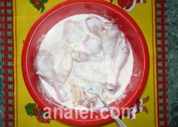 куриное бедро в соусе рецепт с фото