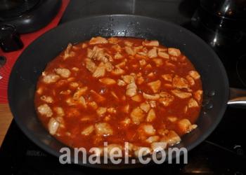 рис с курицей в соусе фото