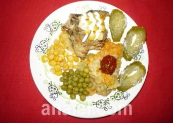 рыба с огуречной пастой рецепт