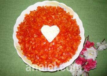 салат подарок рецепт