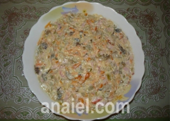 салат подарок рецепт с фото