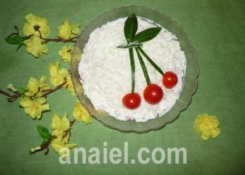 салат вишенка рецепт