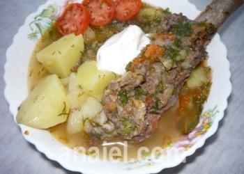 рёбрышки тушёные с картошкой рецепт