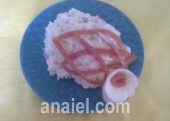 салат золотая рыбка рецепт с фото