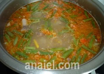 суп с фасолью блюдо