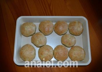 картофельные сконы блюдо