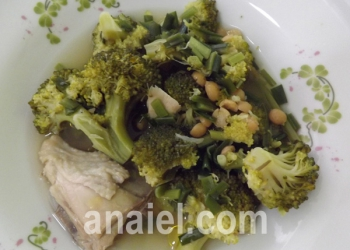 суп из брокколи и курицы рецепт