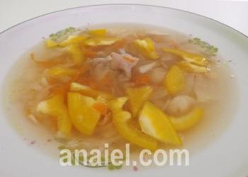 гороховый суп с курицей фото