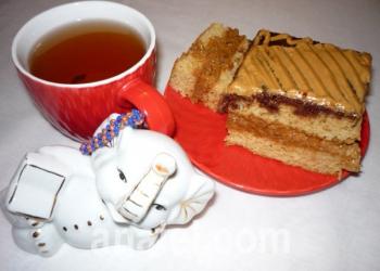 медовый торт рецепт