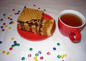 медовый торт к чаю