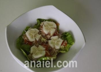 коричневый рис с овощами рецепт