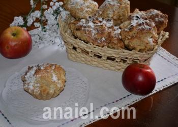 яблочные маффины фото