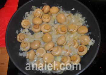 свинина запеченная с грибами фото