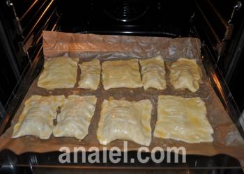 булочки с мясом и сыром фото