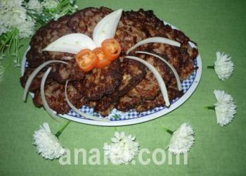 оладьи из кабачка с мясом рецепт
