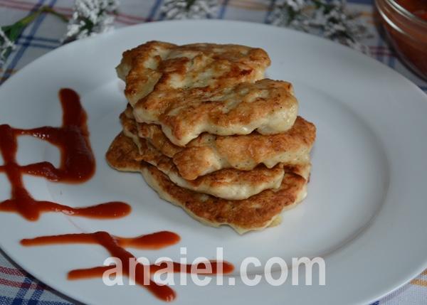 оладьи с курицей рецепт с фото пошагово