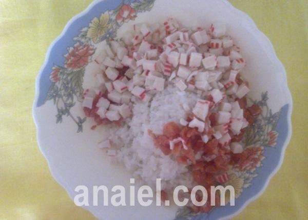 Салат золотая рыбка рецепт пошагово в 86