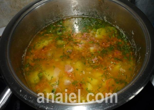 суп с колбасой рецепт приготовления в домашних условиях