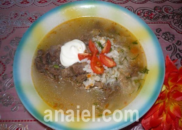 Харчо с колбасой рецепт с фото