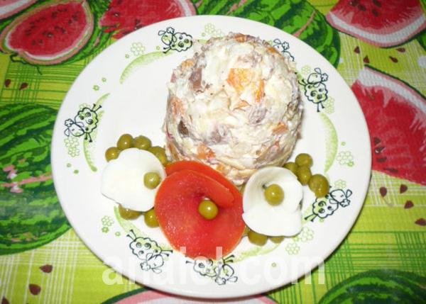 под водочку салат рецепт с фото