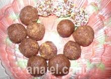 апельсиновые шарики фото рецепт