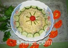 салат мельник фото
