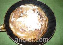 блинный пирог с курицей рецепт с фото