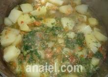 рёбрышки тушёные с картошкой фото