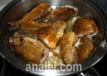 жаренная рыба блюдо