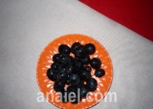Салат «Виноградная гроздь» блюдо
