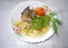 жаркое с рыбой рецепт