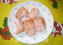 куриные наггетсы блюдо