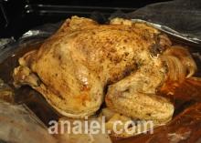 Цыпленок запеченный в рукаве