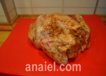 цыпленок запеченный блюдо
