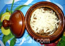 грибной жульен фото