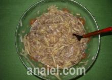 оладьи из кабачка с мясом выпечка