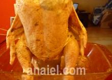 запеченная курица в духовке блюдо
