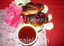булочки с ягодой рецепт