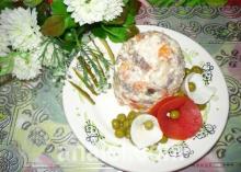 салат под водочку рецепт