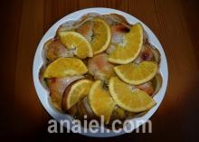 Куриное мясо с апельсинами