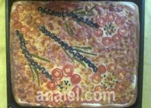 домашняя пицца рецепт